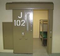 Hollow Metal Detention Doors - Sweeper Metal - prison doors custom metal fabrication and custom metal fabricators Tulsa Oklahoma & Hollow Metal Detention Doors - Sweeper Metal - prison doors custom ...